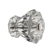 Fluted Glass Knob