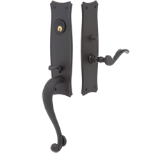 Nichols Exterior Mortise Lock Door Set