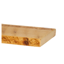 "Salvaged Honeycomb Ponderosa Pine Shelving - 8"" x 3'"
