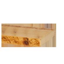 "Salvaged Honeycomb Ponderosa Pine Shelving - 8"" x 6'"
