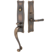 Larsen Exterior Mortise Lock Door Set