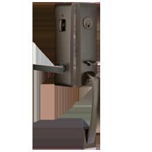 Apollo Tubelatch Lockset with Geneva Lever