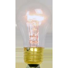15W A15 Clear Bulb