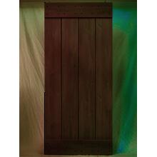 """36"""" Rustic Alder Plank Door Kit"""
