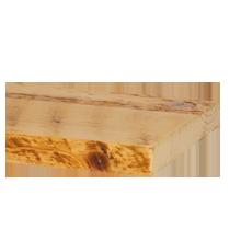 "Salvaged Honeycomb Ponderosa Pine Shelving - 10"" x 6'"