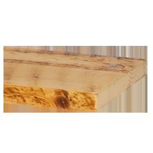 "Salvaged Honeycomb Ponderosa Pine Shelving - 12"" x 6'"