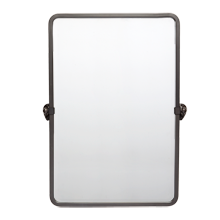 Linfield Pivoting Rounded Rectangle Mirror - Small