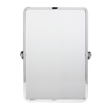 Linfield Pivoting Rounded Rectangle Mirror