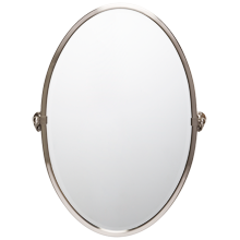 Linfield Large Oval Pivot Mirror