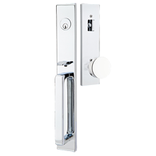 Lausanne Exterior Tubelatch Door Set with Round Knob