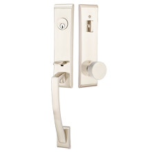 Apollo Tubelatch Lockset with Round Knob