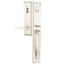 Orion Exterior Tubelatch Door Set with Geneva Lever