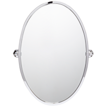 Canfield Large Oval Pivot Mirror