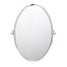 Bingham Small Oval Pivot Mirror