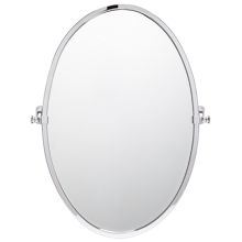 Bingham Large Oval Pivot Mirror