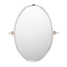 Pittock Small Oval Pivot Mirror