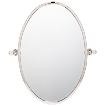 Pittock Oval Pivot Mirror