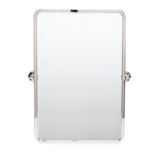 Canfield Pivoting Rounded Rectangle Mirror - Small