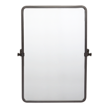 Bingham Pivoting Rounded Rectangle Mirror