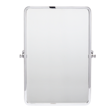 Bingham Pivoting Rounded Rectangle Mirror - Small