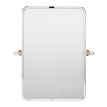 Pittock Pivoting Rounded Rectangle Mirror - Small