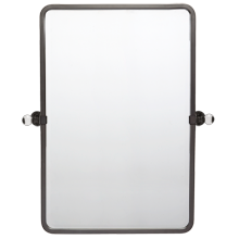 Pittock Pivoting Rounded Rectangle Mirror - Large