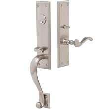 Dobbins Exterior Mortise Lock Door Set