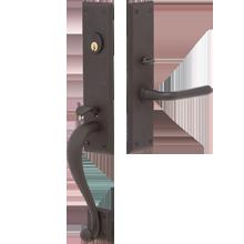 Gaines Exterior Mortise Lock Door Set
