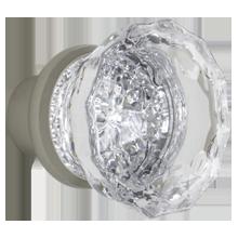 Fluted Crystal Knob
