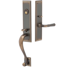 Hobson Exterior Mortise Lock Door Set