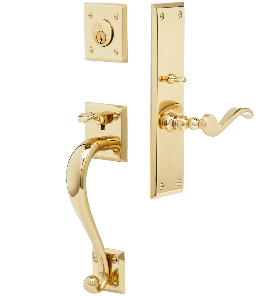 Lucas Exterior Mortise Lock Door Set Rejuvenation