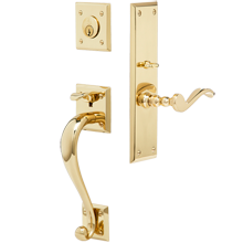 Lucas Exterior Mortise Lock Door Set