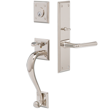 Murray Exterior Mortise Lock Door Set