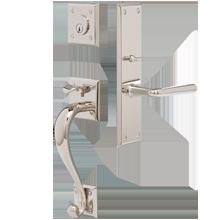 Murray Exterior Mortise Lock Door Set
