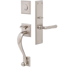 Payne Exterior Mortise Lock Door Set