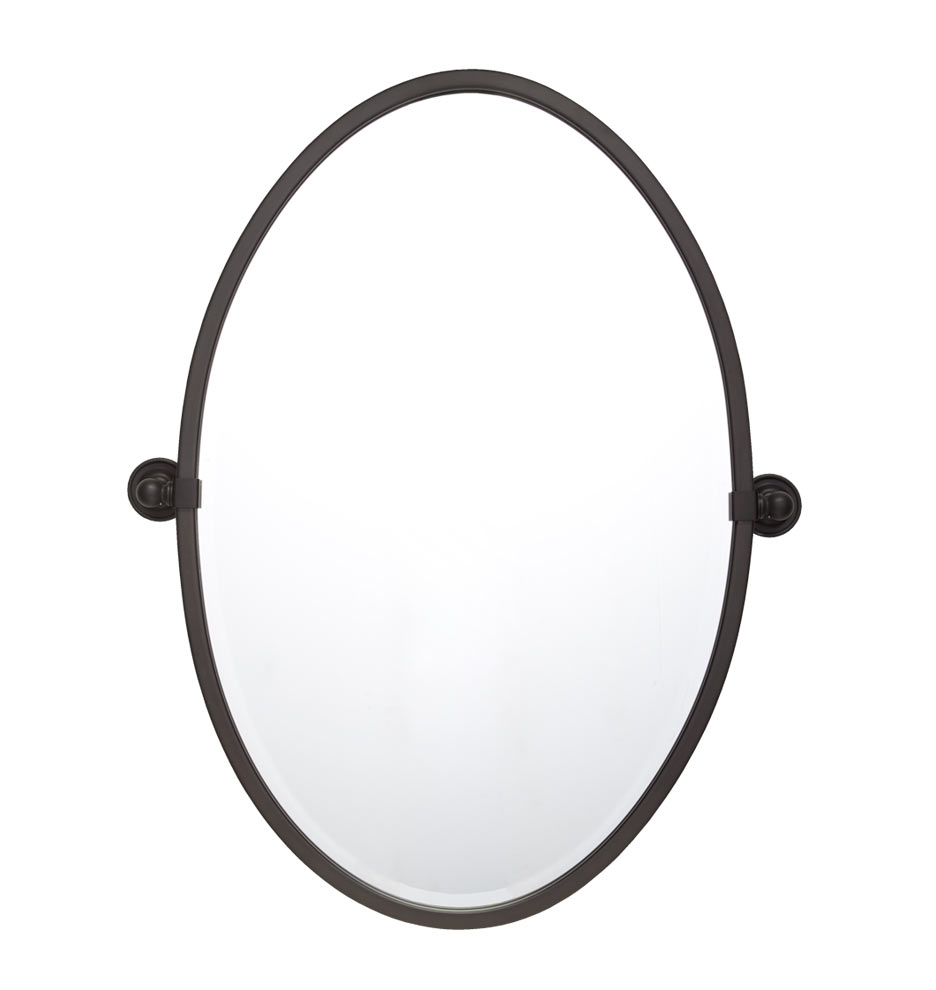 Bathroom Tilt Mirrors Landry Oval Pivot Mirror Rejuvenation