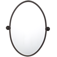 Landry Large Oval Pivot Mirror