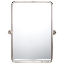 Landry Pivoting Rounded Rectangle Mirror - Large