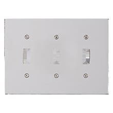 Fenton Triple Toggle Switchplate