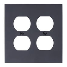 Fenton Double Duplex Coverplate