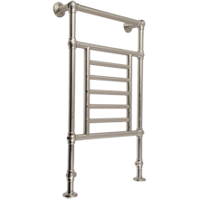 Traditional Floor-Mounted Towel Warmer