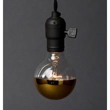 G25 Half Gold 40W Bulb