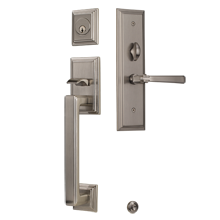 Mills Mortise Exterior Door Sets with Arts & Crafts Lever