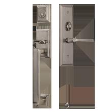 Mills Mortise Exterior Door Sets with Arts & Crafts Lever