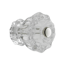 1-1/4in. Fluted Glass Knob