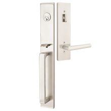 Lausanne Exterior Tubelatch Door Set with Stuttgart Lever