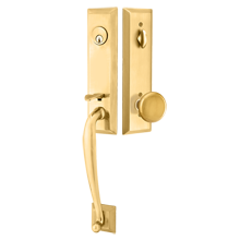 Adams Exterior Tubelatch Door Set with Providence Knob