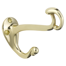 Art Nouveau Double Hook