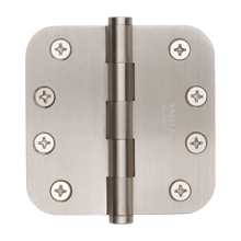 "3-1/2"" Door Hinge with 5/8"" Corner Radius"