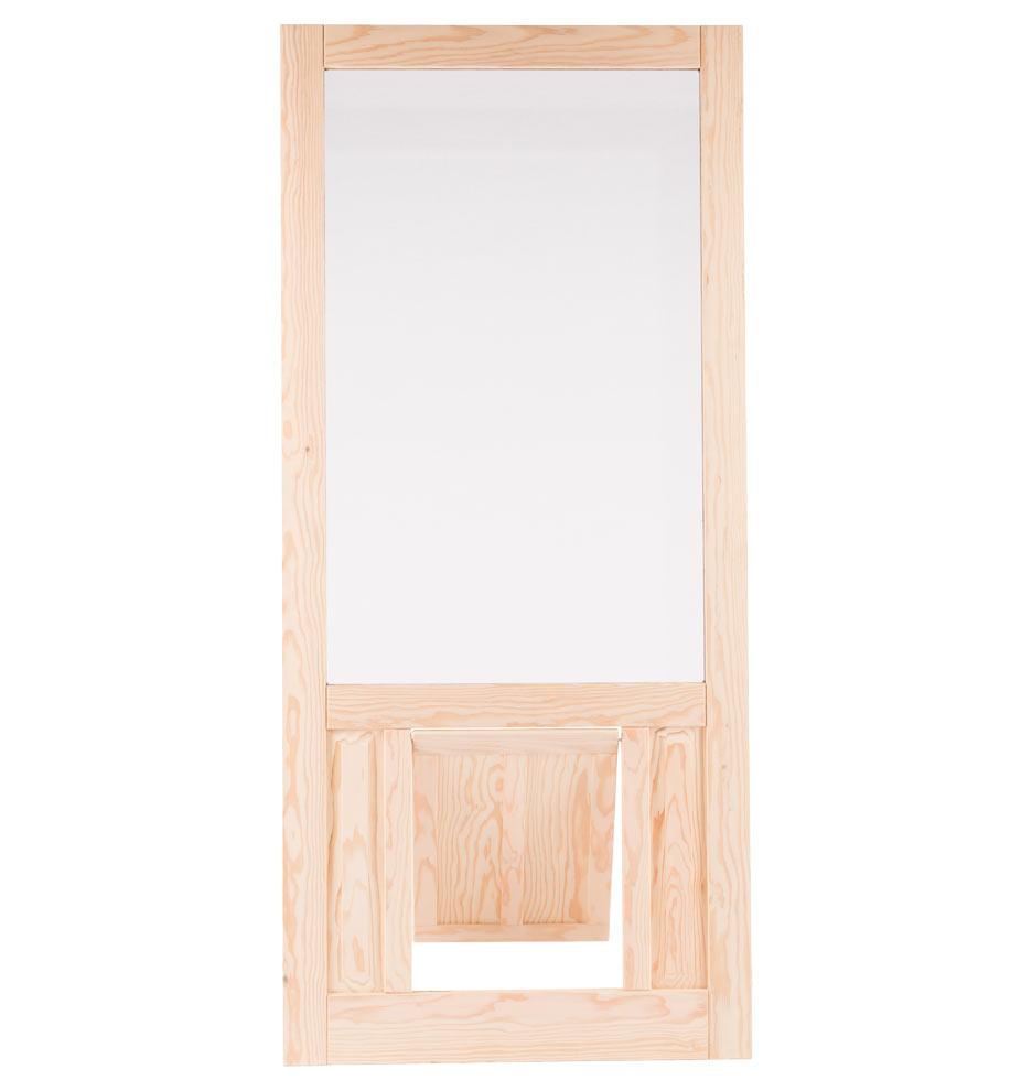 Diy Dog Door Flap Replacement: Fir Screen Door With Pet Door -